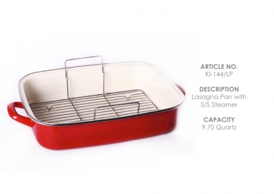 Lasagna with S/S Steamer||