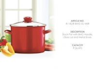 8 qt Stock Pot KI-142-8
