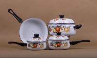 7 pcs Cookware Set Belly