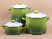 Green Stock Pot (4, 12, 16 quartz)
