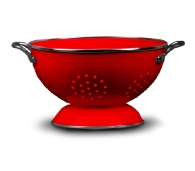Colander Without Cover + Metal Handle||