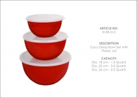 6 pcs Deep Bowl Set